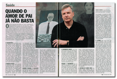 Pete Earley Featured in Brazilian Magazine