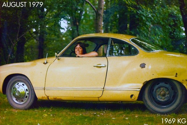 August 1979 Picture Karmann Ghia