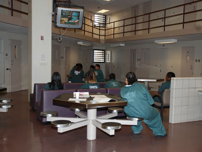 Women in Fairfax County Detention Center